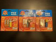 Pez Candy Clip Keychain Looney Tunes Complete Set Of 3 2000 Bugs Taz Spacejam Wb