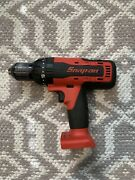 Snap On 18 V 1/2 Monsterlithium Cordless Hammer Drill Tool Only Red