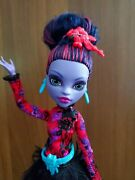 Mattel Monster High Gloom And Bloom Jane Boolittle Doll Rare Collectible