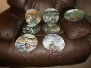 Set Of 7 Edwin Knowles Collectible Plate Ducks Bart Jenner