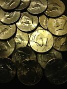 2000- 2019 P D Kennedy Half Dollar 1 Coin From 00and039s Old Original Us Mint 50andcent Lot