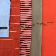 Lot Of 5 Men's Golf Polo Shirts Greg Norman Size Large