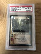 2002 Lord Of The Rings 4r103 Treebeard The Two Towers Psa 10 Gem Mint
