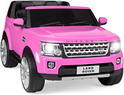 Best Choice Products 12v 3.7 Mph 2-seater Licensed Land Rover Ride On Car Toy W/