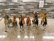 Hartland Indians Horses Old Toys Lots Of 6 Each