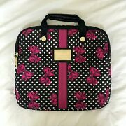 Betseyville By Betsey Johnson Polka-dotted Laptop/notebook Bag
