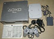 Sony Playstation 1 Ps1 Mini System Psone Complete In Box Scph-101 38 Great