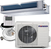 Pioneer Ryb012gmfilcad Ceiling Concealed Ducted Mini-split Air Conditioner And H