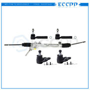 Complete 5pc Power Steering Rack And Pinion Suspension Kit For Chevy Pontiac Fwd