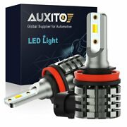Auxito Dual Color Led H11 H8 H16 Light Bulb Fit Front Fog/ Daytime Running L6-wy