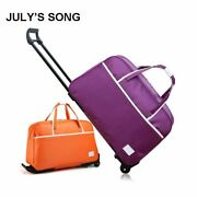 Luggage Carry On Bag Rolling Suitcase Trolley With Wheels Waterproof Travel 18