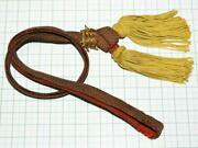 Plain Weave Sword Strap For Japanese Army General Excellent From Japan