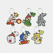 Super Mario Rubber Keychain Collection Box Power Up Vol. 1 Nintendo Japan New