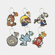 Super Mario Rubber Keychain Collection Box Power Up Vol. 2 Nintendo Japan New