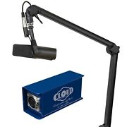 Desktop Bm3000 Stand Shure Sm7b Microphone And Cloudlifter Cl-1 Mic Activator