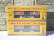 Sealed 2-pack Mth Premier Southern Pacific Sp Up Heritage Tank Car