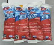 Hth Super Shock 4 In 1 Pool Treatment 1lb Bags 4 Pack Chlorine Ships Fast
