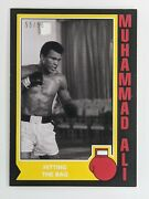 2021 Topps Muhammad Ali The Peopleand039s Champ Black Parallel 55/56 Card 49