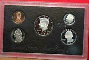 1996 United States Silver Proof Set In Black Box Silver Set