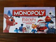 Rudolph The Red Nosed Reindeer Monopoly Collectors Edition. 100 Complete