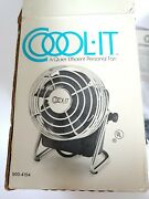 Antique Mini Personal Desk Fan - Cool It - Made In Nashville Tennessee New