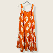 New Anthropologie X Exquise Phoebe Flounced Maxi Dress