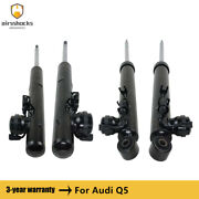 4 Pcs Front Rear Air Shock Absorbers 8r0513025j For Audi Q5 With Ads 2009-2017