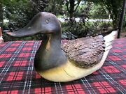 Rare Vintage Keen Kutter Usa Duck Decoy Carving - Beautiful Detail Collectible
