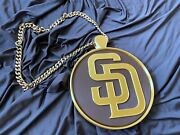 San Diego Padres Spinning Swagg Chain Manny Machado Bling Swag Chain Spin It