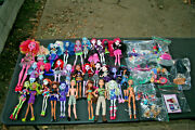Huge Monster High/e.a. Lot 30 Dolls- Some Rare Cyclops+moreclothesacc.shoes