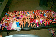 Huge Barbie Friends And Family Lot 90 Dolls Clothes, Acc.shoes, Htf,rare