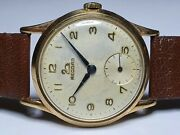 Vintage 9ct Gold Record Cal 022-18 Watch