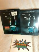 The Ring Two Unrated Dvd Fullscreen 2005 W/ Insert And Slipcover Naomi Watts