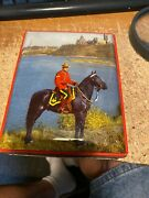 Canadian Mountie And Parliament Buildings---ottawa---thorne's Rectangular Tin
