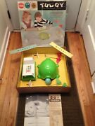 Vintage Working 1963 Gilbert Battery Operated Tuggy The Two Headed Turtle Game