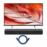 Sony Xr65x90j Bravia Xr 65 Inch 4k Hdr Led Smart Tv And Ht-s200f Bundle