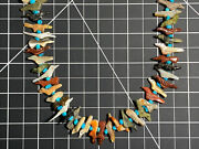 Native Zuni Carved Fetish Necklace Multiartist Mostly David Tsikewa D.