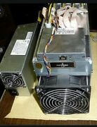 Bitmain Antminer L3+ 504mh/s And Apw3++ Psu Doge Ltc Crypto Coin Miner -u.s Seller