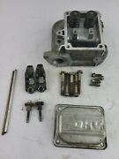 Briggs And Stratton Cylinder Head Kit 2 P/n 796232 W/rods Arms Adjusters Oem