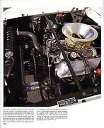 1965 Shelby Gt-350r Article - Must See - 13 Pages Mustang 350 Race Carroll