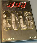 Roh Gold 2004 Dvd Ring Of Honor Wwe Aew Nxt Tna Pwg Ecw