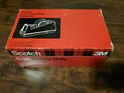 Vintage Heavy-duty Scotch 3m C-25 Weighted Tape Dispenser Model 28000 In Box