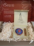 Besame And Disney Belle Princess Signature Compact And Lipstick Le 500 In Hand New