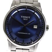 Tissot T Classic Powermatic 80 T086407 Date Navy Dial Automatic Menand039s_626521