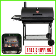 Charcoal Grill Xl Adjustable Pro Deluxe 2735 Fire Grate Easy Dump Ash Pan Black
