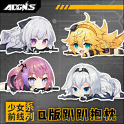 Anime Girls Frontline Ak12 An94 Plush Toys Dolls Cushions Pillows Holiday Gifts