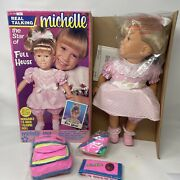 Full House Vintage Talking Michelle Doll Mary-kate And Ashley 1990 New/ Open Box