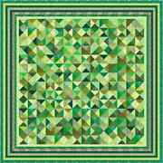 Green Acres 2 - 109 X 109 - Pre-cut Quilt Kit By Quilt-addicts King