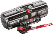 Warn Axon 5500-s Winch With Synthetic Rope