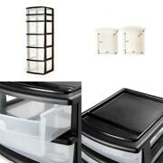 Storage Cart Organizer Freestanding 6 Drawer Container Home Bedroom Use 31 In